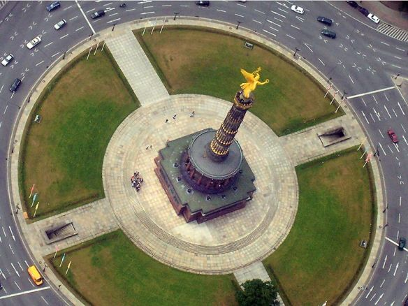 The Siegessäule - a view from above