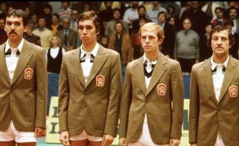 Czechoslovakia's 1980 Davis Cup team