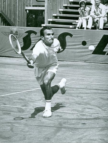 Istvan Gulyas - 1966 French Open finalist