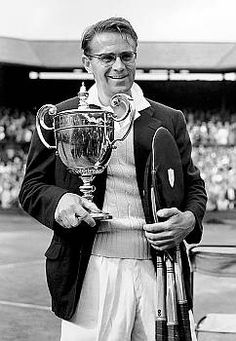 Jaroslav Drobny - 1954 Wimbledon champion