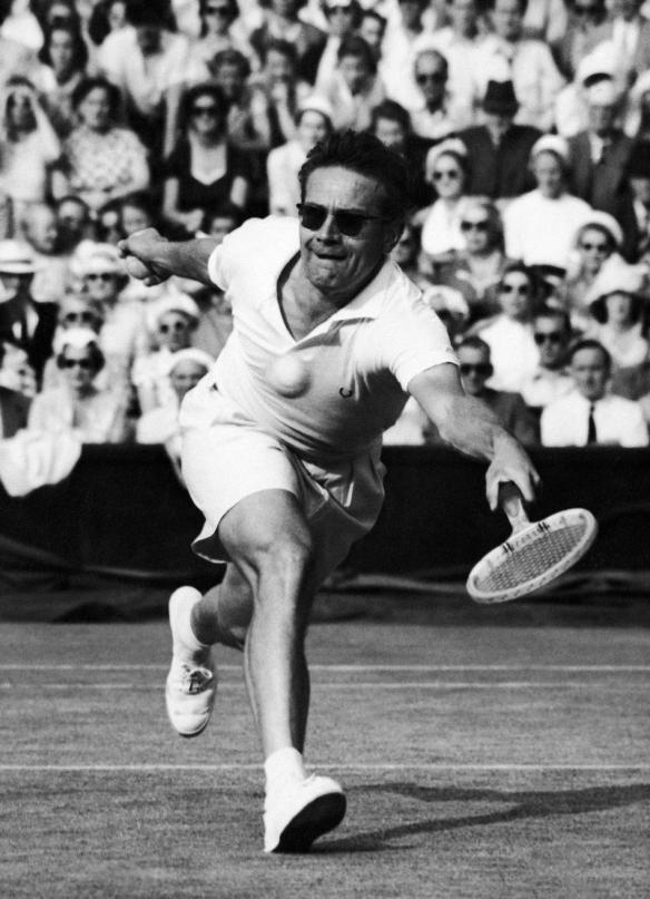 Jaroslav Drobny - for many years found a Wimbledon title just out of reach