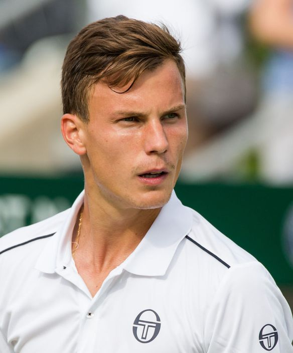 Márton Fucsovics - leader of the 2017 Hungarian Davis Cup team