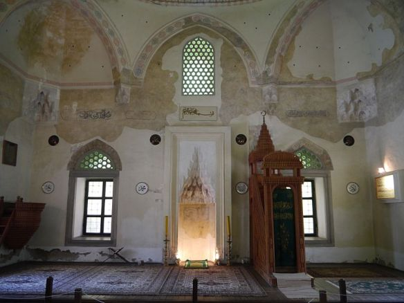 Prayer hall of Jakovali Hassan Pasha Mosque