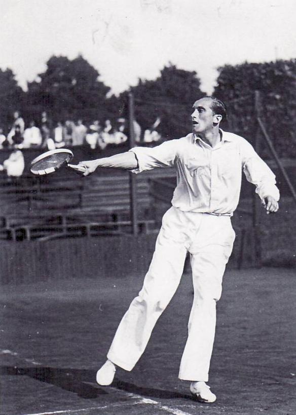 Roderich Menzel - still holds the Czech record for most Davis Cup win