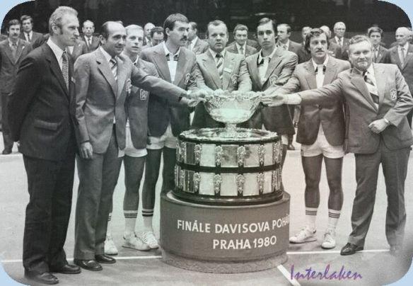 The 1980 Davis Cup Champions - Czechoslovakia