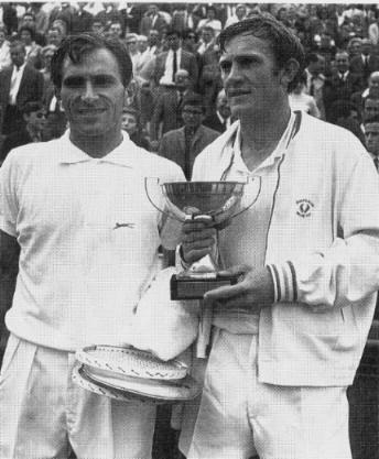 Tony Roche & Istvan Gulyas - a victory for sportsmanship