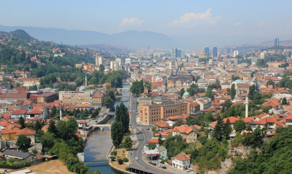 Sarajevo - a city now at peace