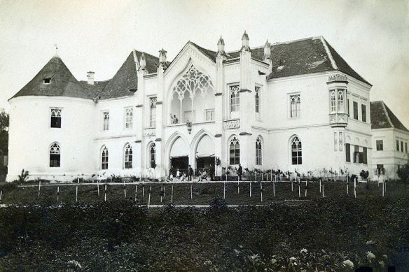 The glorious past - Banffy Castle in 1890