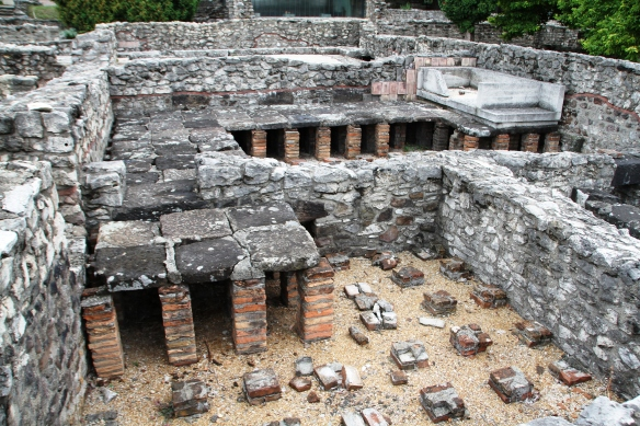 The Great Public Bath at Aquincum