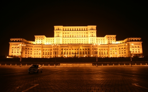 A Vision Of Madness - Palace of the Parliament in Bucharest