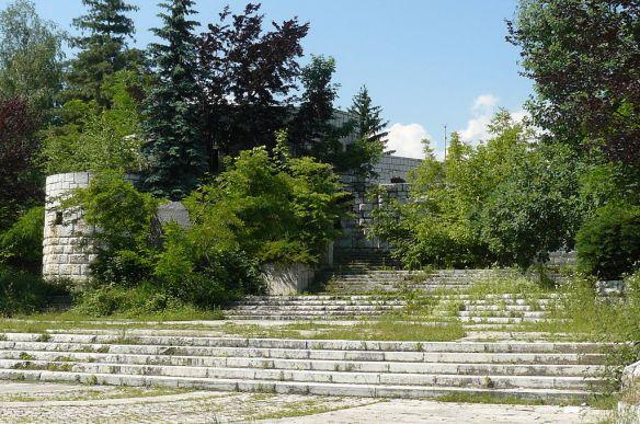 An explosive situation - Vraca Memorial Park (Spomen-park) in Sarajevo