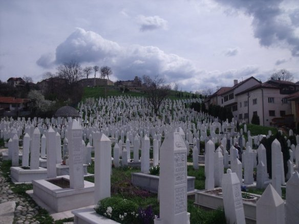 Cemetery in Sarajevo