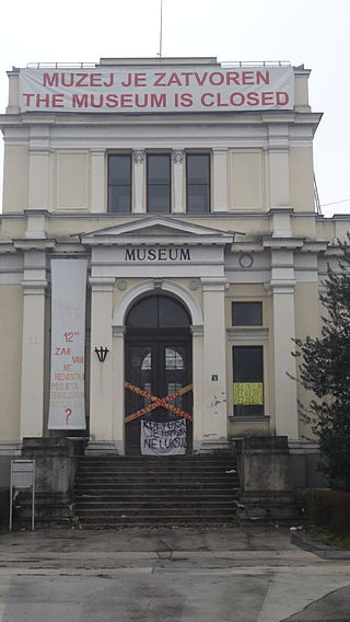 From 2012 to 2015 the National Museum of Bosnia & Herzegovina was closed