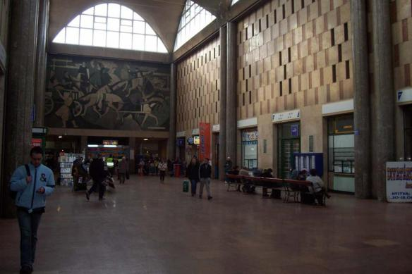 Just another ordinary day - the waiting hall at Debrecen Train Station