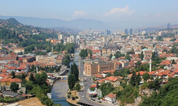 Sarajevo - from above