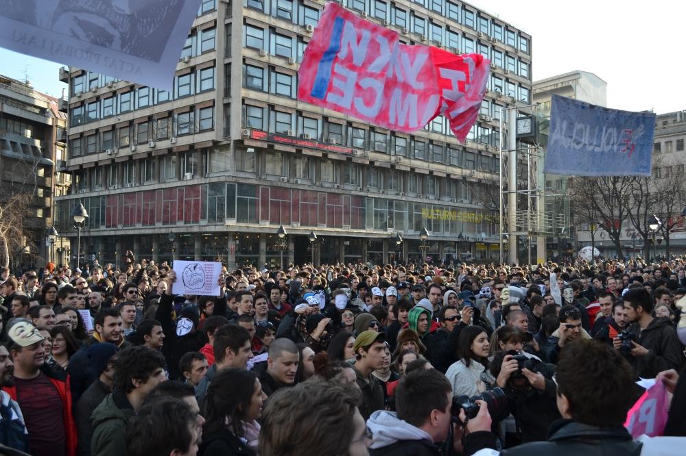 Belgrade - city of protests