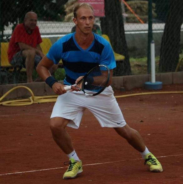 Levente Gödry - one ATP ranking point away from oblivion