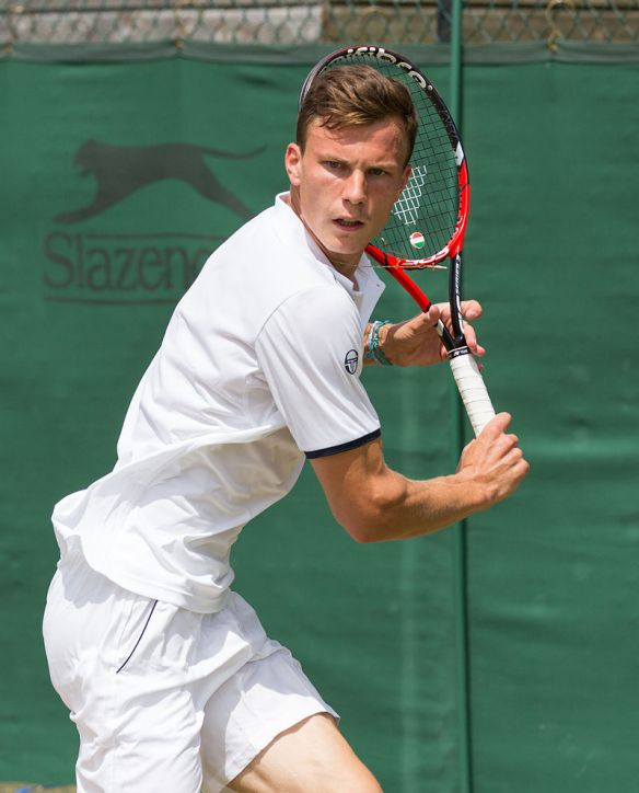 Márton Fucsovics - Hungary's top ranked men's tennis player