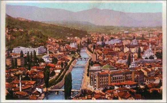 Sarajevo - Paradox of peace