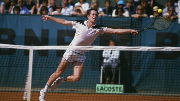 Just out of reach - John McEnroe never won the French Open