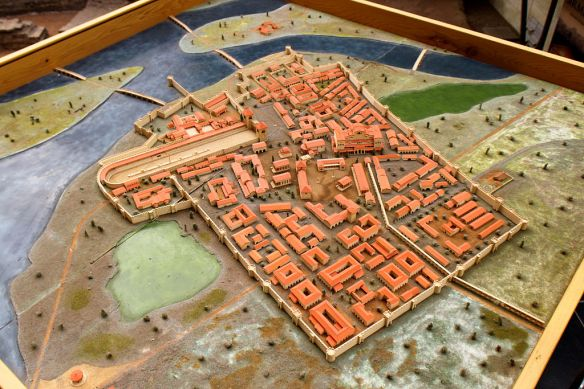 Scale model of ancient Sirmium