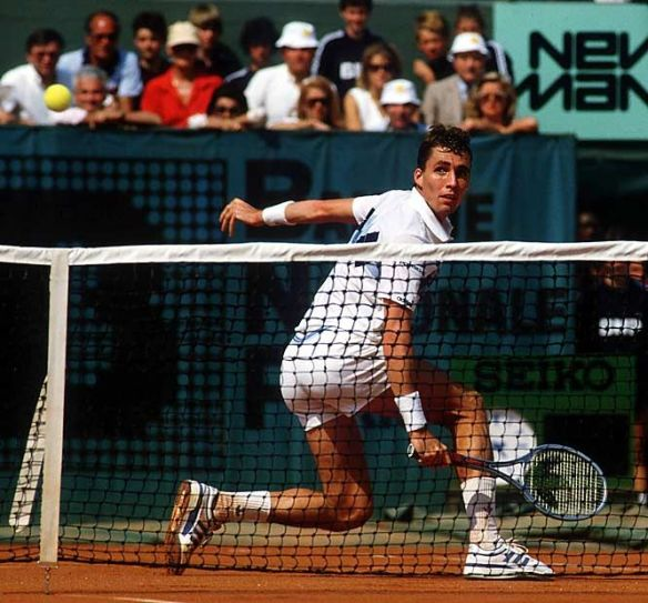 The power and the glory - Ivan Lendl won three French Open titles