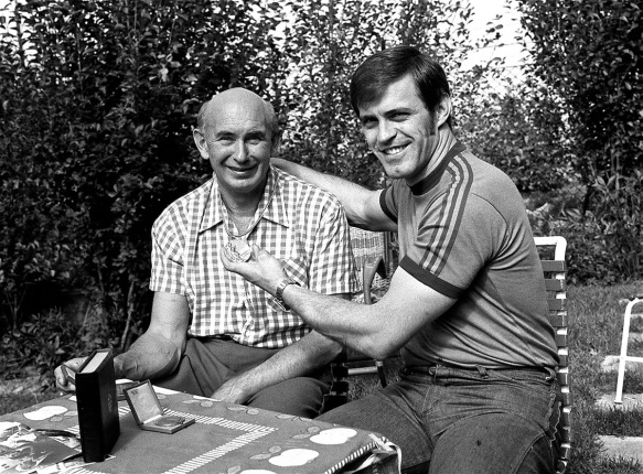 Imre & Miklos Nemeth - The only father & son to win Olympic Gold Medals