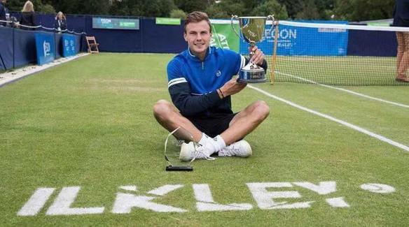 Marton Fucsovics reigned supreme at the Ilkley Challenger - earning him direct entry to Wimbledon