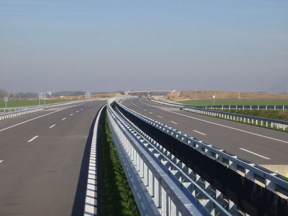Open Road - Motorway in Hungary