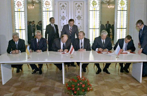 The end of an empire - The signing of the Belavezha Accords