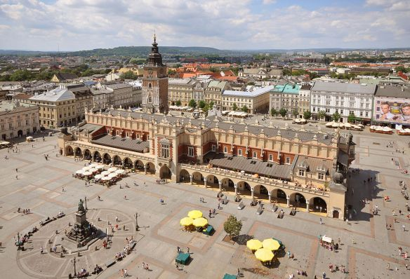 Cloth Hall and Main Market Square - Krakow