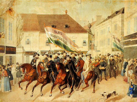 Scene from the Hungarian Revolution of 1848