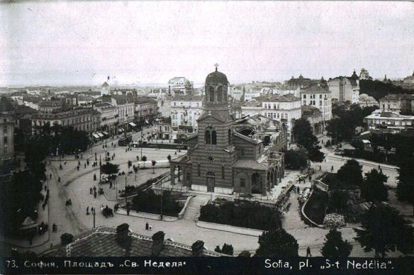 St. Nedelya Church after the assault in 1925