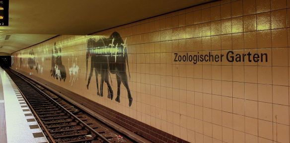 Station for the U2 line at Zoologischer Garten