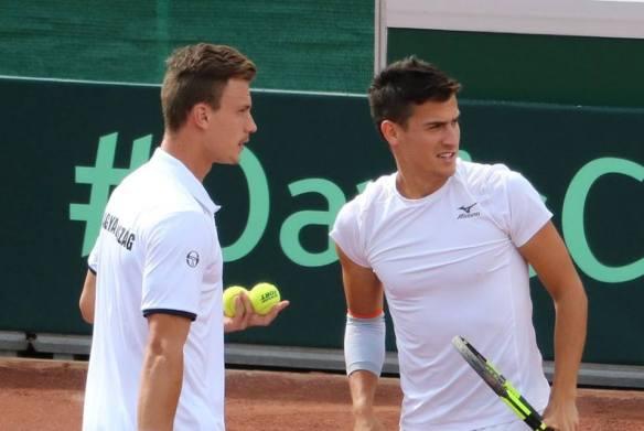 A dynamic doubles duo - Marton Fucsovics & Attila Balazs