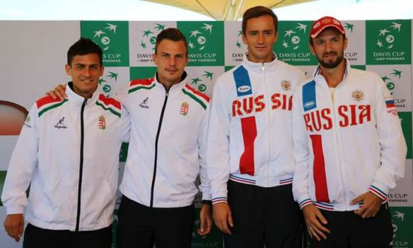 Hungary vs. Russia - a Davis Cup tie to remember