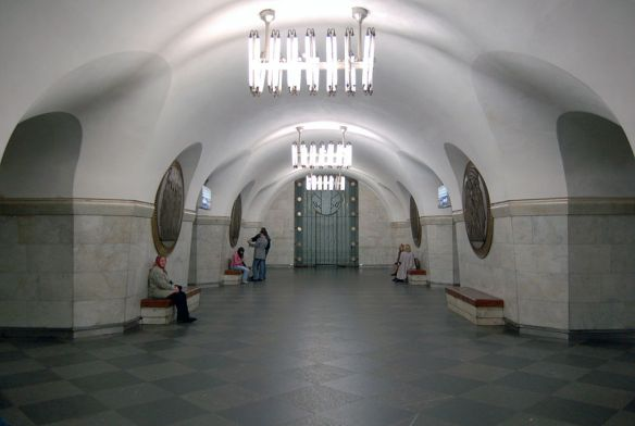 Illumination- Vokzalna Metro Station Kiev