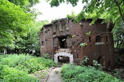 Running into problems - remnants of The Citadel in Lviv