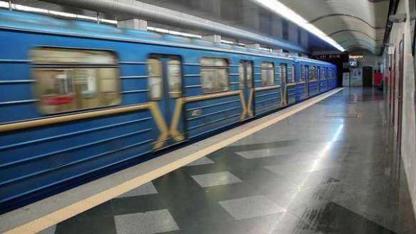 The Memory of Moments - Kiev Metro Train