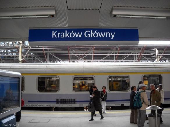 Arrival time - Krakow Glowny