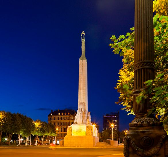 Freedom Monument - Symbol of Latvian National Independence