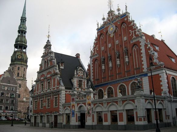 Germanic legacy still stands in Riga's Old Town