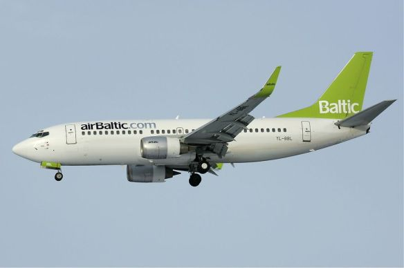 In transit - airBaltic