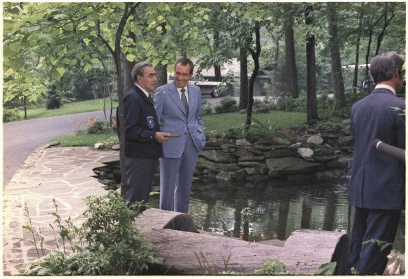 Fast Friends - Richard Nixon and Leonid Brezhnev at Camp David