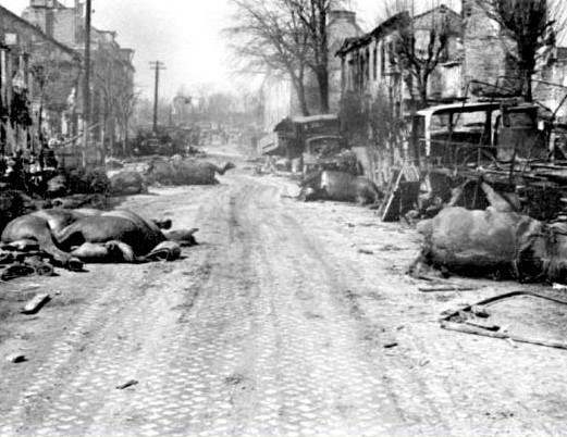 A Wild Picture Of Destruction - East Prussia in 1945