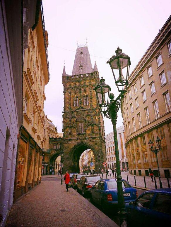 Gothic Grandeur - The Powder Tower in Prague