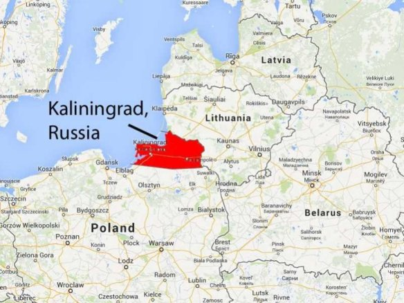 Kaliningrad - Russian strategic wedge