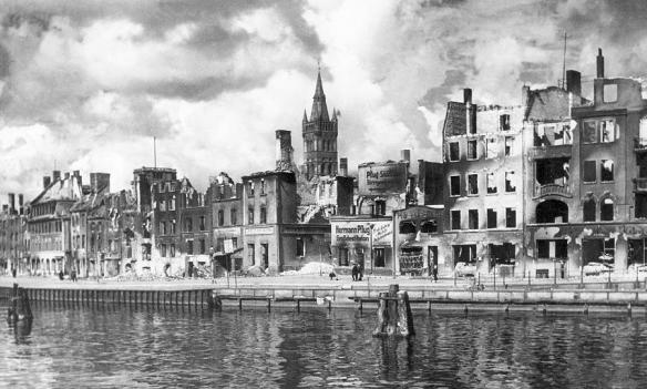 Königsberg & the Pregel River in 1945