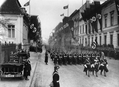 Nazi Parade in Konigsberg