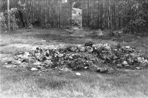 Personal effects - Belongings of Jews killed at Maly Trostinets